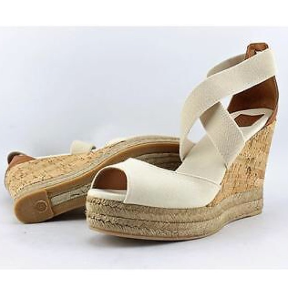 04889b9385 TORY BURCH - 85MM Peep-Toe Cork Wedge Sandals. M_5aaacdea85e605c09c2f11f7